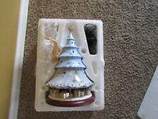 A Heavenly Holiday 2004 Sandra Kuck Heirloom Porcelain Illuminated Tree