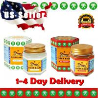❤️ 2 x 30g TIGER BALM 1 RED&1 WHITE OINTMENT - ARTHRITIS JOINT PAIN