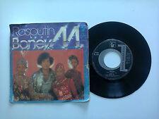 "Boney M / Rasputin - Disco Vinile 45 Giri 7"" Stampa Italia 1978"