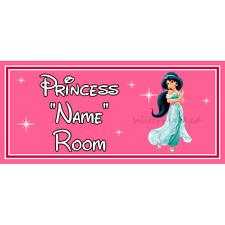 Princesse Château Chambre à Coucher Porte Signe Personnalisé Nom Handmade Children/'s Plaque