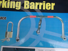 3 Legged sécurité PLIABLE Parking Barrière Post avec cadenas et 3 clés