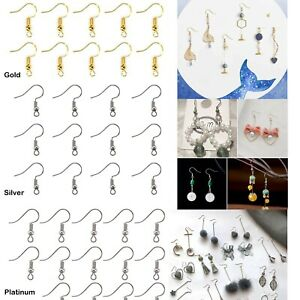 Tray: 10mm arricraft 100 Pcs Platinum Iron Clip-on Earring Settings DIY Earring Cabochon Setting for Non-Pierced Earring Making
