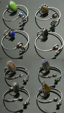 Turquoise & Mix stone 925 sterling silver plated Bangles & Rings wholesale Lot