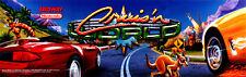 Cruisin (Cruis'n) World Nintendo Arcade Marquee  Header/Backlit Sign