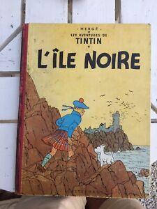 TINTIN L'ILE NOIRE 1947