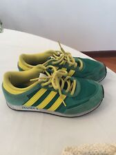 best sneakers bb196 7b8a9 ADIDAS TRAINER VERDI E GIALLE 37,5