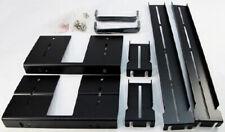 Conversion kit / Heavy Duty Rail + Handle set for Inter-Tech IPC 5HU-9008 Black