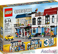 LEGO 31026 CREATOR Fahrradladen & Café Bike Shop Le magasin de vélos et le Cafe