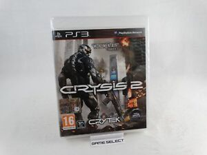 CRYSIS 2 SONY PS3 PLAYSTATION 3 PAL EU EUR ITA ITALIANO ORIGINAL NUOVO SIGILLATO