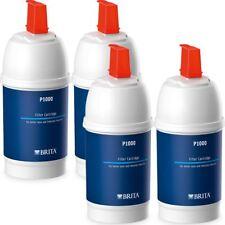 4 x BRITA P1000 Water Filter Refill Genuine Replacement Kitchen Tap Cartridges