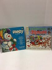Vintage Pair Of Christmas Records With Christmas Songs Jl 12 2216a