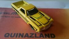 Hot Wheels 1972 Ford Ranchero 2014-134 jaune (B47)