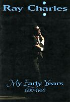 RAY CHARLES 1995 MY EARLY YEARS  TOUR CONCERT PROGRAM SOUVENIR BOOK-NM 2 MNT