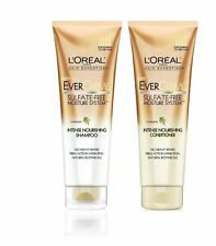 2 L'Oreal EverCreme Sulfate-Free Intense Nourishing Shampoo &Conditioner 8.5FLOZ