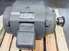 Motor 25HP, 230/460VAC 60Hz,1765 rpm. From 1998 Toshiba injection Molding Press