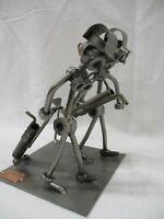 Hinz & Kunst 3D Golfers Metal Welded Germany das Original Sculpture RARE (AR)