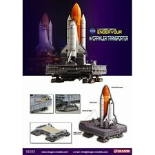 DRAGON 56393 SPACE SHUTTLE ENDEAVOUR ROCKETS & TRANSPORT CRAWLER 1:400th scale