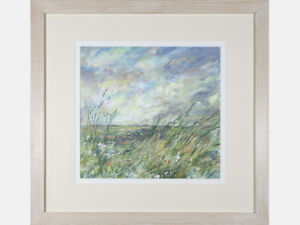 'Contemporary Landscape' - Mike Jones. British Acrylic Painting. Signed
