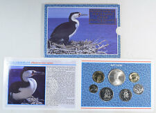 2000 RESERVE BANK OF NEW ZEALAND BRILLIANT UNCIRCULATED COIN SET, ORIGINAL PKG