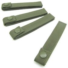 "Condor 224 6"" MOLLE MOD Tactical Modular Web Straps Gear 4 Pack OD Green"
