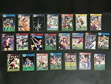 SCANLENS FOOTBALL CARD LOT OF 22 MIXED 1987
