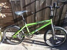 BMX Bike Mongoose Menace in Neon Lime Green