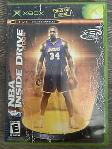 NBA Inside Drive 2004 (Microsoft Xbox, 2003) Game COMPLETE TESTED