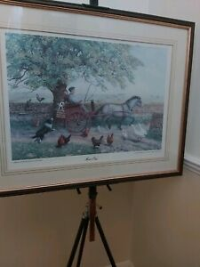 """Andrea Hellyar Limited Edition Signed Print """"Market Day"""" No.211/1250 ( James..."""