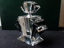 Edel !Grosser  Parfüm Flacon Kristallglas Art Deco Stil