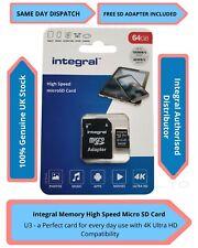 64GB Micro SD Memory Card Class 10 U3 Samsung Galaxy A9 Star, A8 Duos, a9(2018)