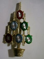 Old  Christmas  Tree  Pin  -  Signed  GOLD CROWN INC