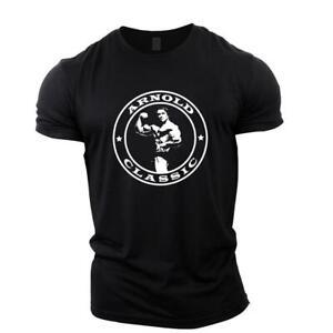 Arnold Classic Bodybuilding T-Shirt |Gym Clothing Vest Stringer Tee Motivation