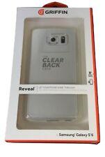 Original Griffin Reveal Claro Parachoques Trasera Carcasa Dura Samsung Galaxy S6 GB41393 Nuevo