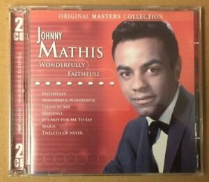 "Johnny Mathis ""Wonderfully Faithfull"" NEW 2CD Set *24 Tracks*"
