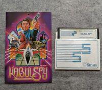 Kabul Spy Apple II II+ Sirius Software vintage computer game 1981