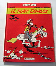 LUCKY LUKE . 59 . Le Pony Express . FAUCHE , LETURGIE . BD EO