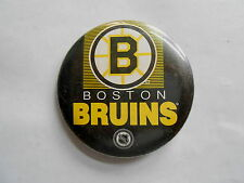 Vintage 1991 NHL Boston Bruins Hockey Team Pinback Button
