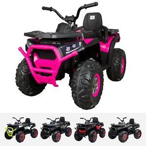 RiiRoo Kids Ride On ATV Quad Bike Electric Childrens 24V Battery Toy Quad