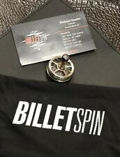 BilletSPIN Matrix Spin Top Exotic #13 Stainless Steel & Reptillian Damascus NEW
