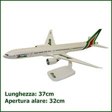 ALITALIA Boeing 777 Scala 1:200 Aereo Modellino Da Collezione Esposizione B777