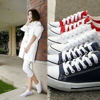 Classic Women  Chuck Taylor Ox Low Top shoes casual Canvas Sneakers Flats Sport
