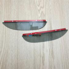 Rearview Mirror Eyelid Rain Deflector Eyebrow Trim 2P For Ford Everest 2016 2017