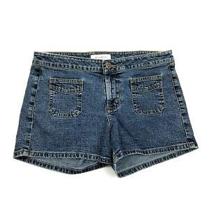 Women's Daisy Dukes Jean Shorts Size 30 Waist Fitted Denim Jorts Stretch Zip