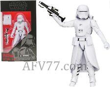 "Hasbro Star Wars BLACK Force Awakens 6"" First Order SNOWTROOPER ****Read Listing"
