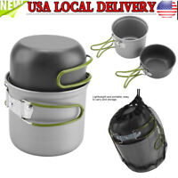 Portable Camping Cookware Kit Outdoor Picnic Hiking Cooking Equipment Set