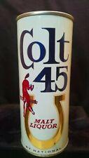 COLT 45 MALT LIQUOR - EARLY 1960'S - 16OZ HALF QUART ZIP TAB CAN - DETROIT