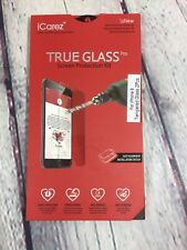 ICarez Tempered Glass Screen Protector IPhone 8 Easy Installation / New