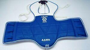 Asian Sun #2 Kids Taekwondo Chest Protector Karate MMA Reversible Sparring Gear