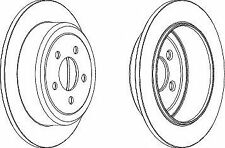 Ferodo DDF1760 Rear Axle Solid Brake Disc Set Replaces 52129250AA