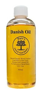 500ml Danish Oil - completely safe - - voc free- contains no solvents